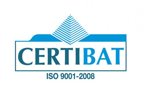 certification Certibat ISO 9001